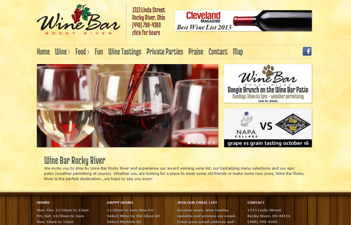 Rocky River Wine Bar
